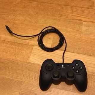 Logitech Dual Action USB 12-Button Gamepad w/Programmable Buttons (Navy/Black)