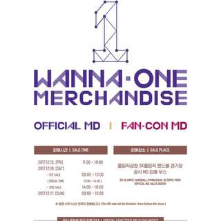 [OPEN SURVEY 2ND SLOT] WANNA ONE OFFICIAL MD (POSTER)