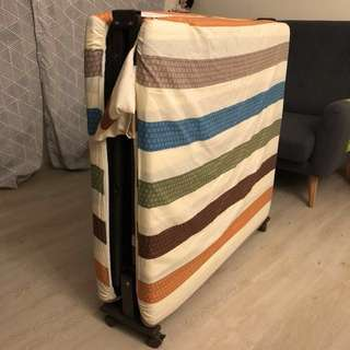 BN Foldable Bed with Wheels