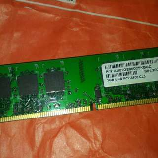 Apacer 1GB DDR2 RAM CL5 PC2-6400 800mhz