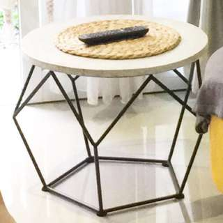 Geometric coffee table