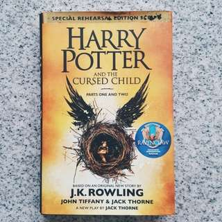 ⚡harry potter and the cursed child - j. k. rowling [HARDBACK]