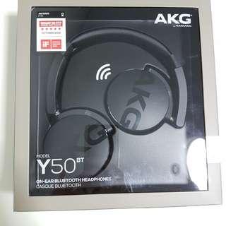 AKG Y50BT Bluetooth wireless headphone