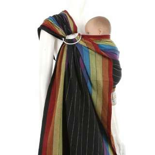 Ring Sling Baby Carrier - Rainbow at Night