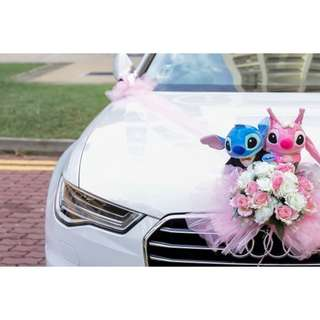 White Audi A6 for Wedding Hire (Latest model)