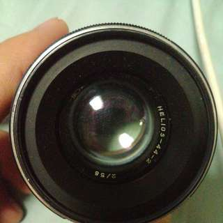 Helios 44-2 58mm f2.0 manual lens