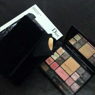 TERMURAH Dior Makeup Couture Palette Edition Voyage