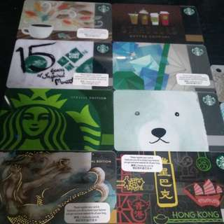 Starbucks card Hong kong