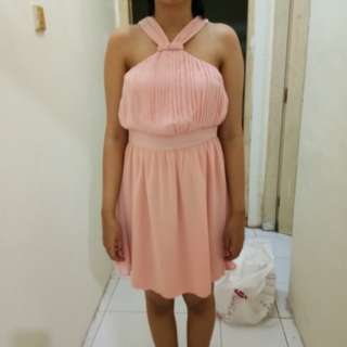 DRESS PINK CANTIK