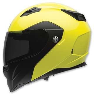 Bell Revolver Evo Adult Modular Flip Up Street Motorcycle Motorbike Helmet (Optimus Hi-Viz Matte Gloss, Small Medium Large X-Large XX-Large) (D.O.T.-Certified)