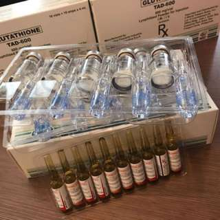 TAD 600mg injectable glutathione