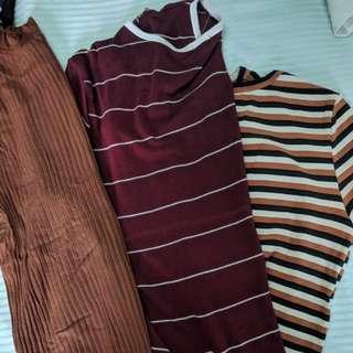 Bundle of 3 T-Shirts.