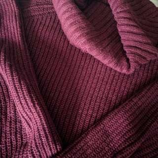 Mendocino Roll Neck Sweater.