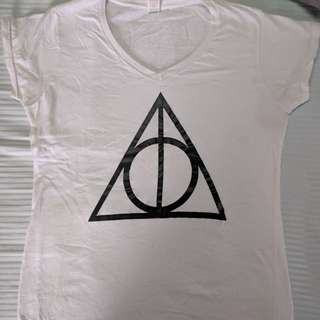 Deathly Hallows Harry Potter Tee