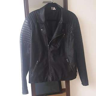 H&M Biker Style Jacket - Size: Large
