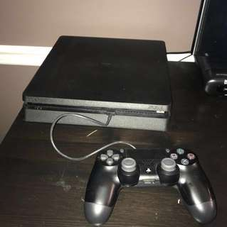 Rarely used PS4 Slim $270 + crash bandicoot