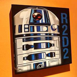 R2-D2 : Pop Art Poster Frame