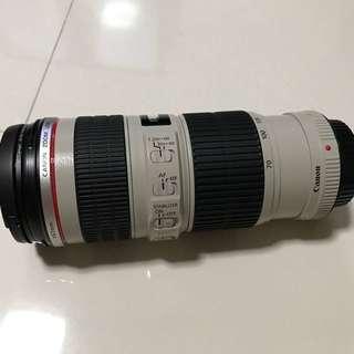 Canon EF 70-200 mm f4L IS USM Lens