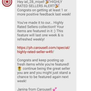 Again highly rated seller :-)