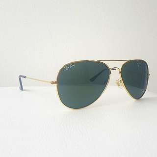 Ray-Ban Gold Frames - Unisex