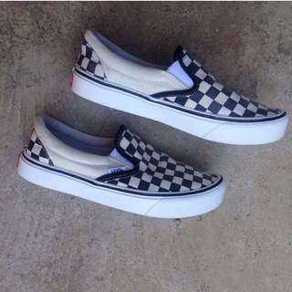 Vans Slip on checkerboard pro