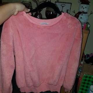 Fashionova super fuzzy sweater size small