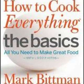 BN Half Price!! How to Cook Everything - The Basics : All You Need to Make Great Food -- With 1,000 Photos