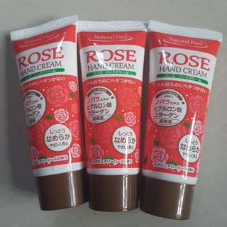 Hand Cream (Natural Pure in Rose)
