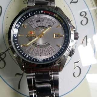 orient automatic東方萬年曆自動錶