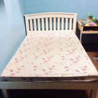 Semi Double Bed Frame with Uratex Foam