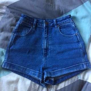 Wrangler Denim Shorts 'Pin Up'