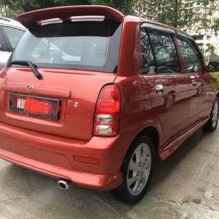 Perodua kelisa 1.0 (at) 2005 tiptop