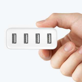 #OCT10 100% GENUINE Xiaomi USB 4 Ports Charger/ adapter