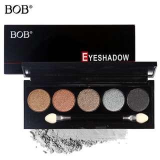 💄💋 Bob 5 colour make up professional Eyeshadow palette