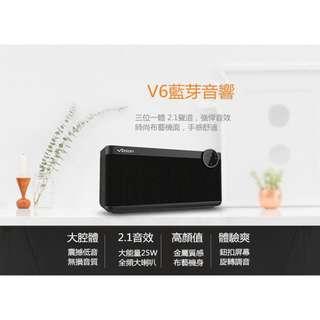 vidson/維迪聲 - V6 無線智能APP藍牙音箱家用迷你手提便攜電腦音響