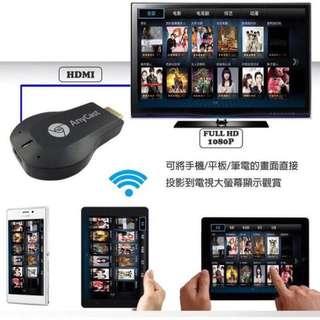 【最新4.6版本 】Anycast M2 Plus 無線 HDMI 同屏器 手機電視分享器 電視棒 IOS 安卓