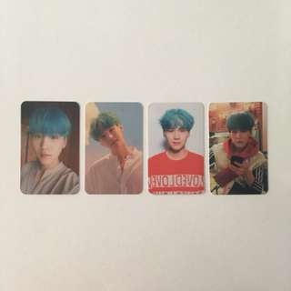 BTS Love Yourself Her Photocards (Suga)