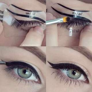 Eyeliner & Eyeshadow Makeup Stencils