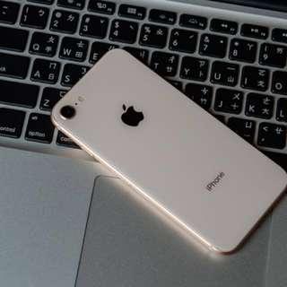 Iphone8 64G 金 fullset