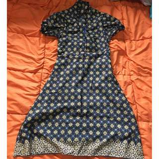 Authentic Batik Dress from Indonesia