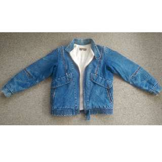 Vintage Sherpa Denim Jacket