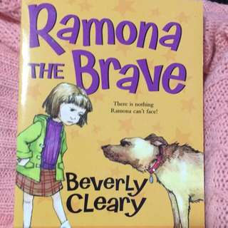 Ramona the brave beverly clearly book