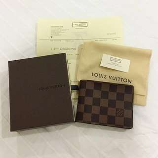 Authentic LV Multiple Damier Wallet