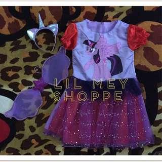 My Little Pony Purple Costume Gown Dress