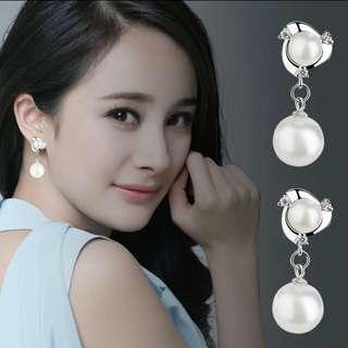 Stylish pearl ear ring