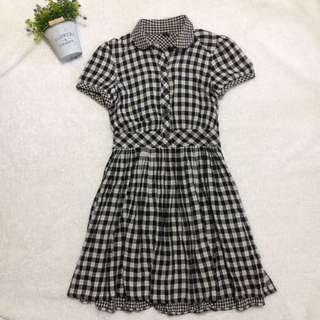 Topshop gingham dress