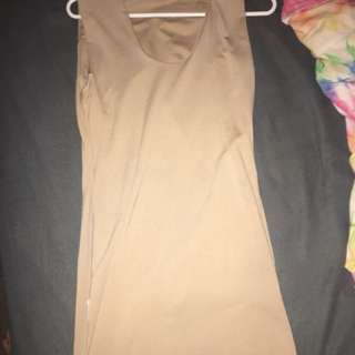 Kookai beige tight dress