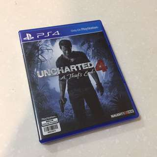 Uncharted 4 - A Thieve's End (PS4 Game)