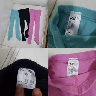 HnM Leggings(Blue & Pink)