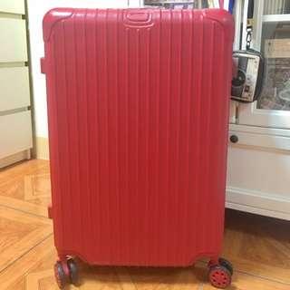 紅色行李箱26吋